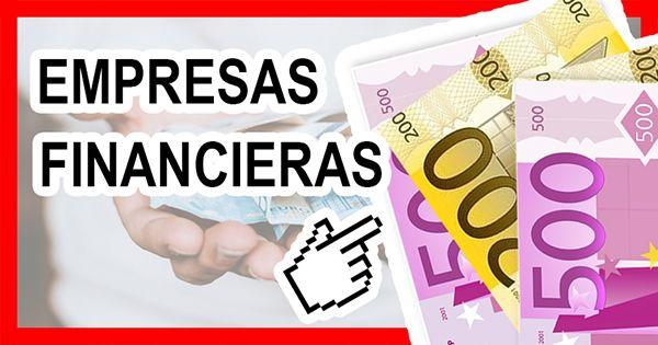 Empresas Financieras