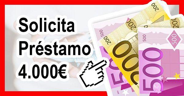 Necesito préstamo 4000 euros