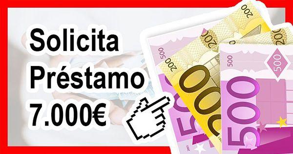 Necesito préstamo 7000 euros