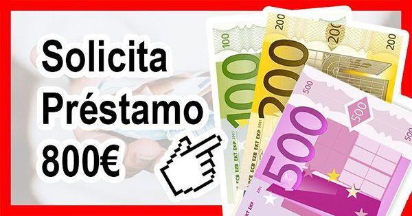 Necesito préstamo 800 euros