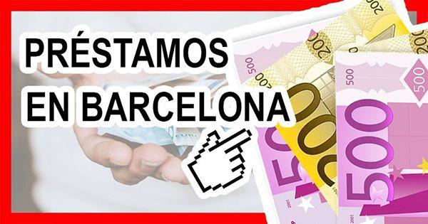 Solicitar préstamos Barcelona
